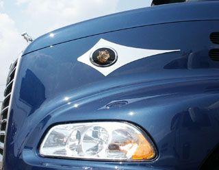 Dagger Bulldog Emblem Accent Cut Outs Cut Outs Mack
