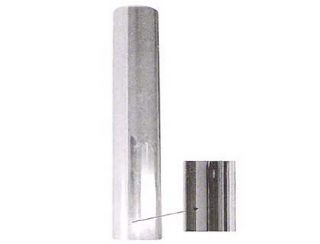 5 Quot Straight Extension Plain Od Bottom Chrome Stack Exhaust
