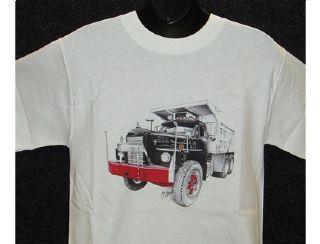 Mack Dump B 81 10 Wheel Dump Truck T Shirtchrome Store