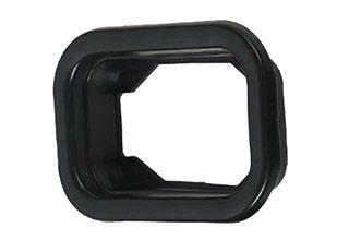 Rubber Rectangle Grommet 4 Chrome Store For Trucks Truck
